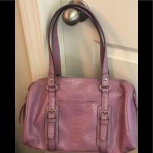 Handbags - Lavender satchel style handbag